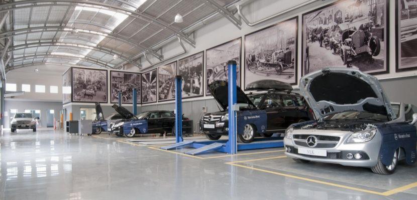 Utilización de talleres propios o externos de los vehículos de la flota