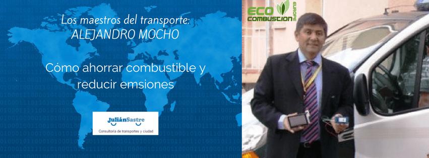 Cómo ahorrar combustible y reducir emisiones – Entrevista a Alejandro Mocho – Los maestros del transporte