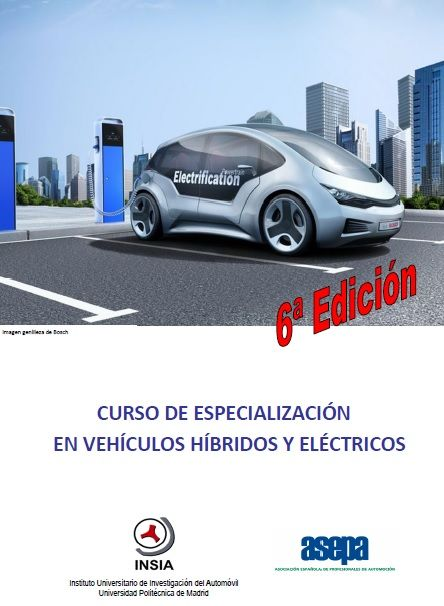 Curso de Especialización en Vehículos Híbridos y Eléctricos