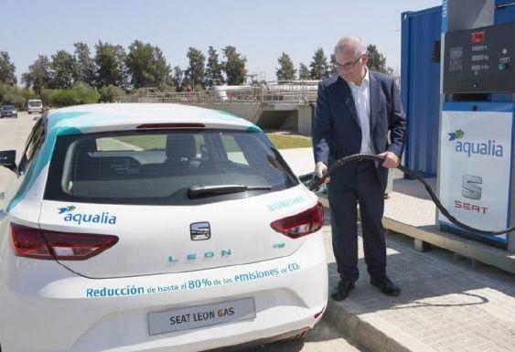 El primer biogás español a partir de aguas residuales